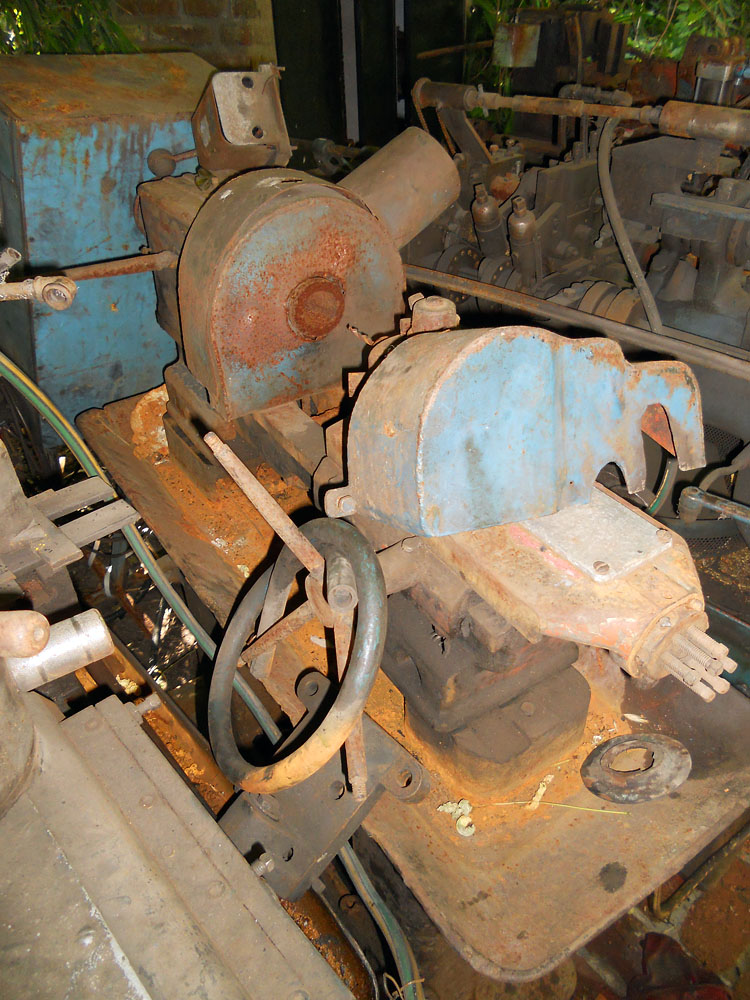 Turret lathe as-is condition